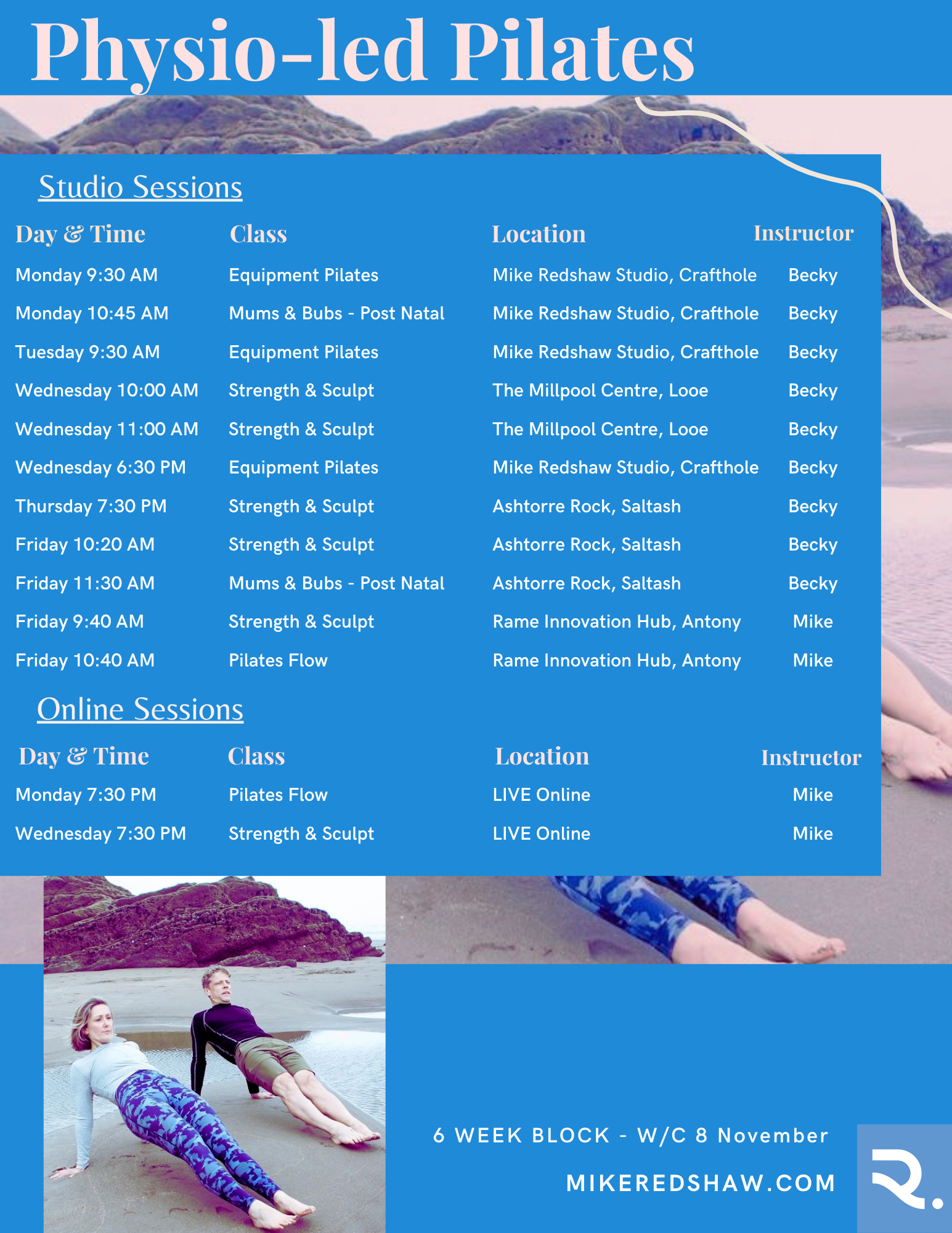 January February and March Time Table